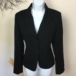 Vintage career blazer. GIORGIO SANT' ANELO. Black